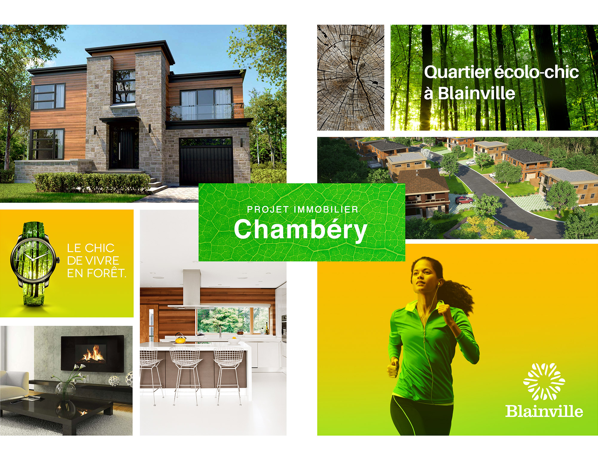 Blainville's Eco-chic Neighbourhood